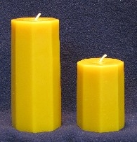 Octagon Pillar Candle Moulds