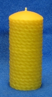 Rope  Pillar Candle Moulds