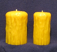 Rustic Pillar Candle Moulds