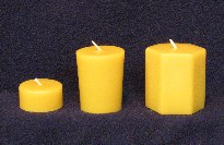 Tealight - Votive -  Hexagon Votive - Candle Moulds